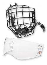 Хоккейная маска и визор